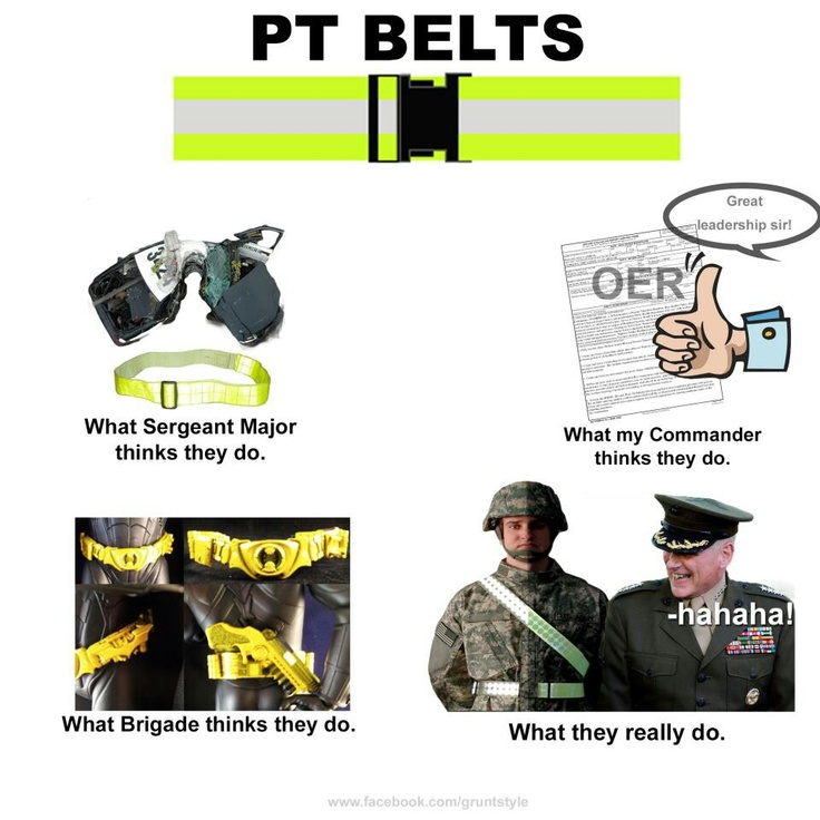 army pt belt meme quotes new fashions