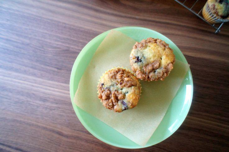 blackberry buttery crumb muffins | Breakfast | Pinterest