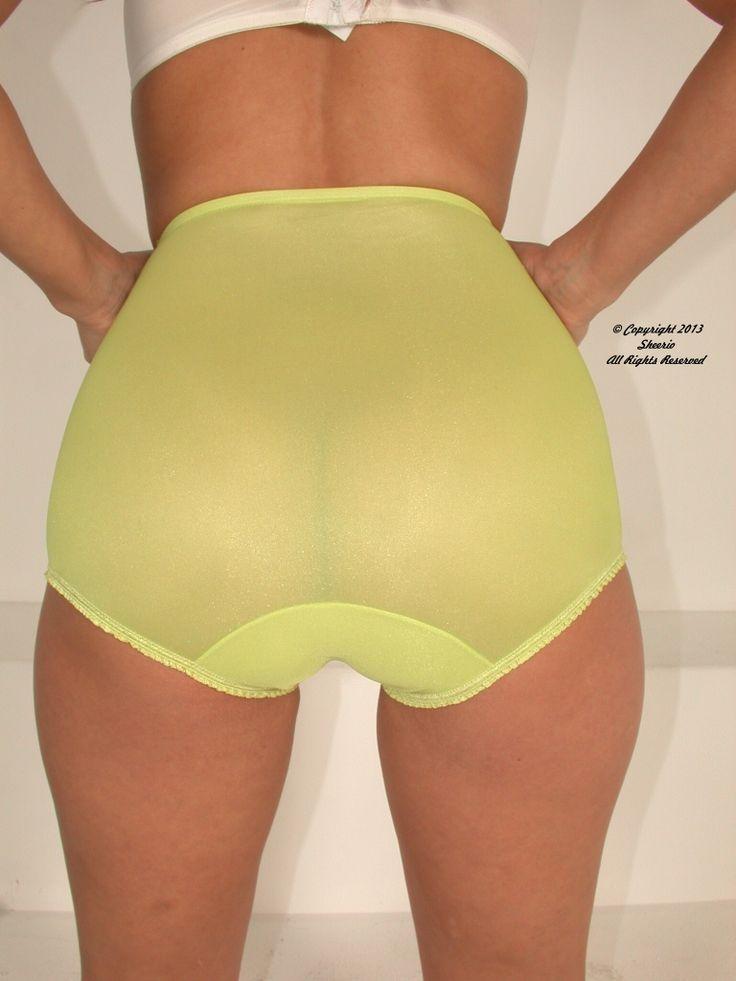 Full lingerie negligee sheer skirt