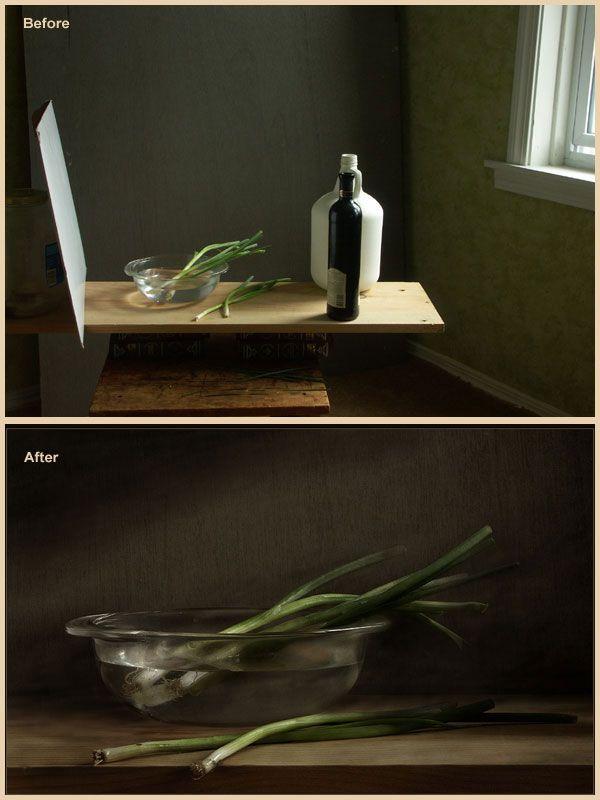 Натюрморт съемка в домашних условиях