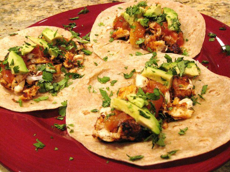 Tilapia Tacos | Taco Island! | Pinterest