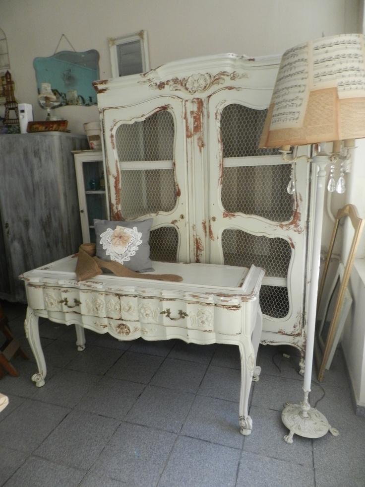 Juego de muebles estilo provenzal la rescata closet - Estilo provenzal decoracion ...