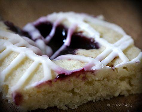 Blackberry Jam Almond Bars | foodie! | Pinterest