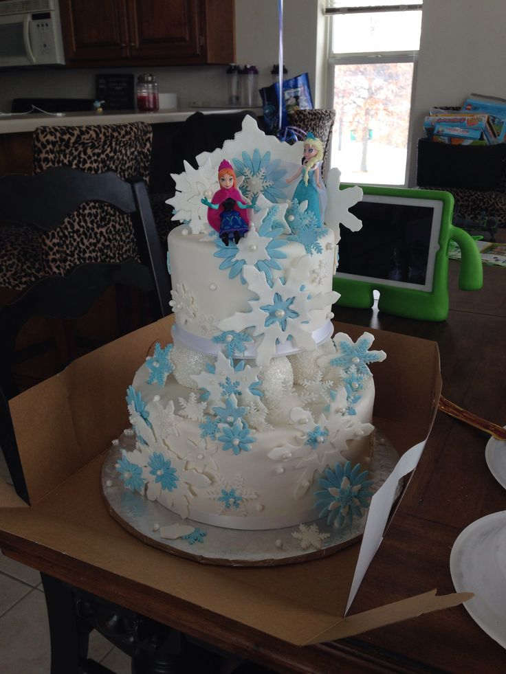 Cake Decorating Frozen Movie : Birthday Cake Frozen Movie Party Invitations Ideas