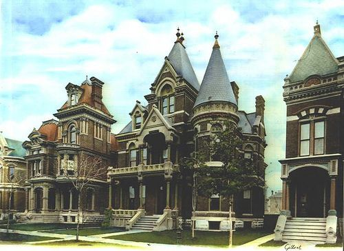 Brush Park Mansions
