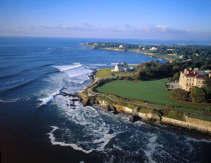 Newport Coastline Amp Cliff Walk Rhode Island Pinterest