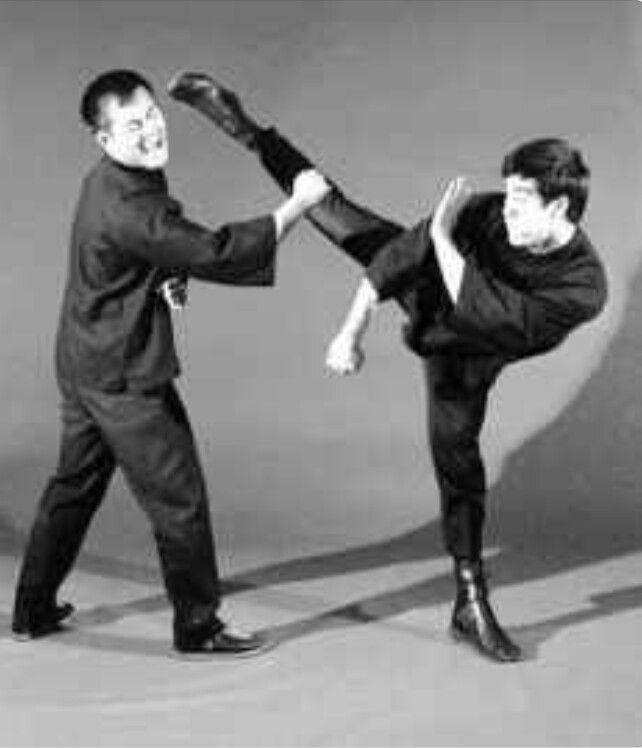Dan Inosanto And Bruce Lee
