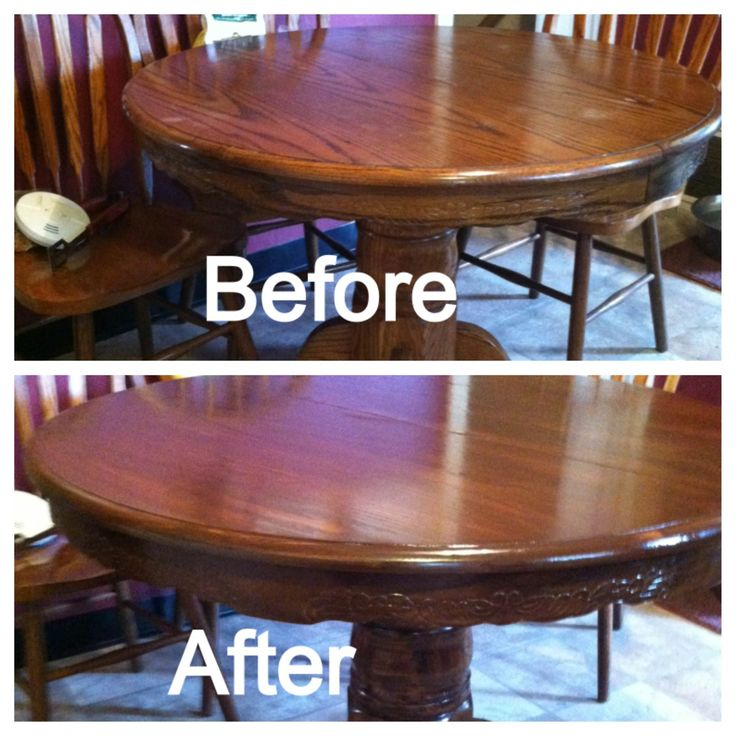DIY Restaining Kitchen Table And Chairs For The Home Pinterest