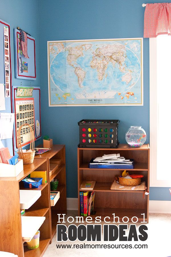 Homeschool Room Ideas Homeschooling Pinterest