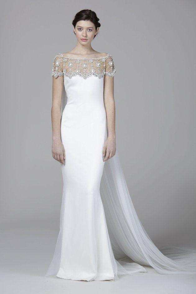 gaun pengantin elegan a la marchesa