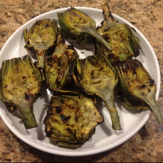 Grilled Artichokes | Yummy | Pinterest