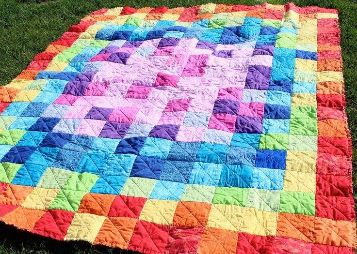 Rag Quilt Ideas Pinterest : rag quilt pattern Craft Ideas Pinterest