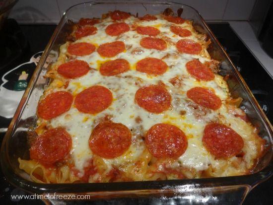 Pizza Casserole | Recipe