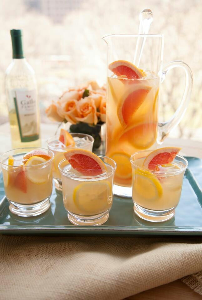 Moscato | Refreshing Drinks | Pinterest