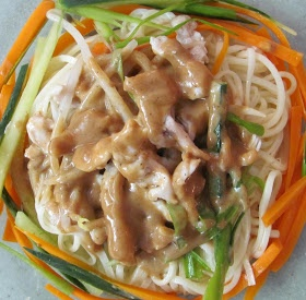Shanghai cold noodle | Cold salads and dressings | Pinterest