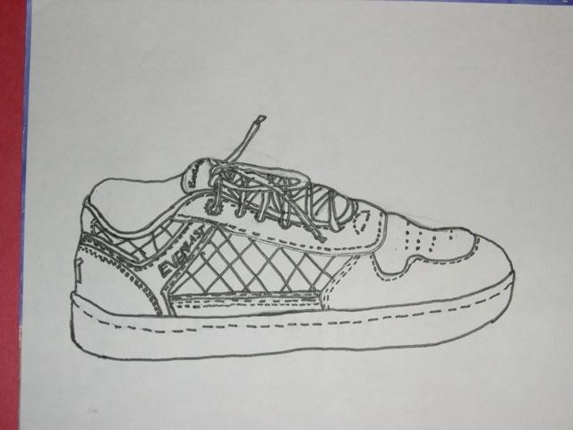 Contour Line Drawing Of Shoes : Contour line shoe drawings scrapbook for a foot pinterest