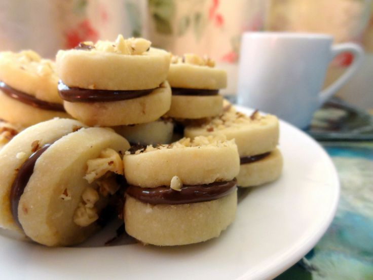 Hazelnut Coconut Shortbread Cookies | Indulgent Sweets :) | Pinterest
