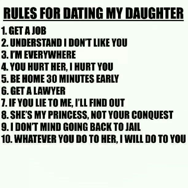 Christian rules dating my daughter-in-Tarras