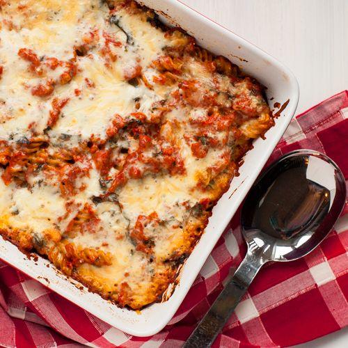 Light Turkey and Kale Pasta Bake | Recipe