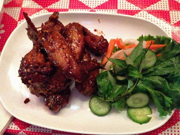 Pok Pok's Vietnamese Fish Sauce Wings. SO GOOD!