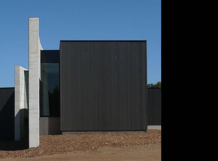 timber cladding black stain panel external exterior outside