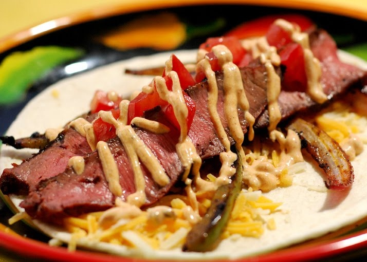 Nibble Me This: Steak Fajitas | Yummiest Things | Pinterest