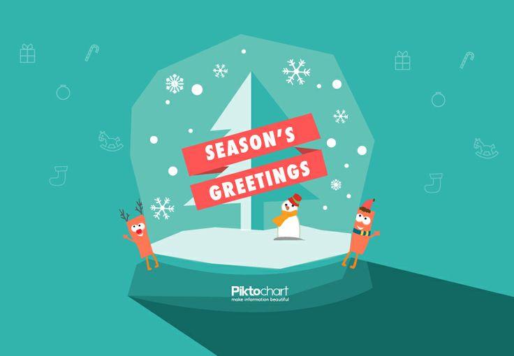 Season's greetings from @Piktochart!   Quotes, Memes & Random stuff ...