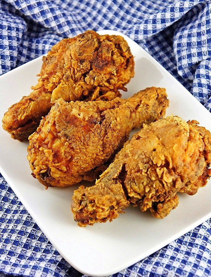Extra-Crunchy Fried Chicken Recipes — Dishmaps