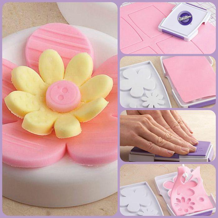 Cake Decorating Gum Paste Recipe : Fondant Cut & Press Recipe