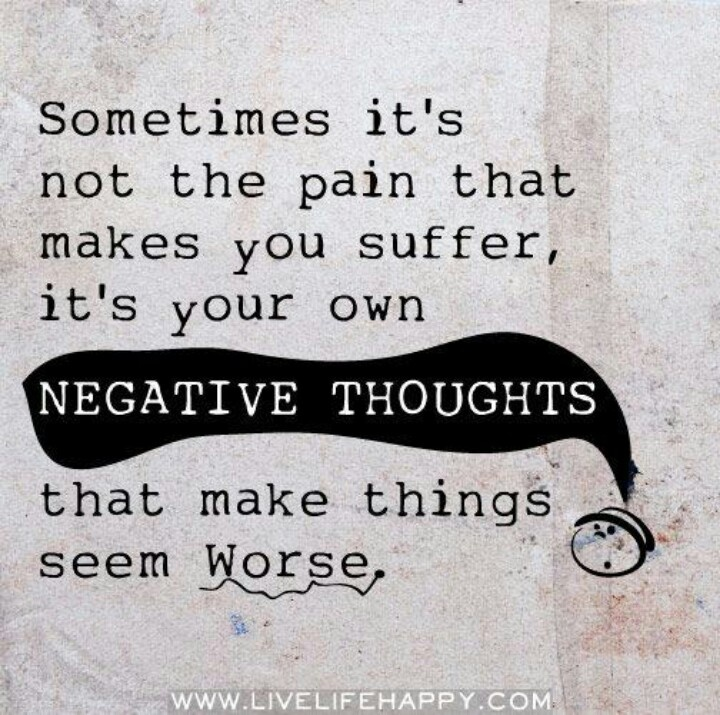negative thoughts quotes quotesgram