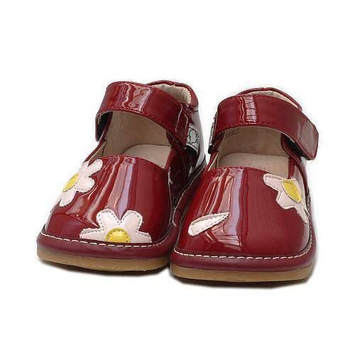 Ruby infant mary jane squeaky shoes