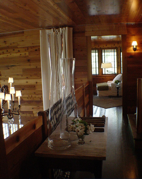 Upstairs Loft Looking Into Game Room Log Home Ideas