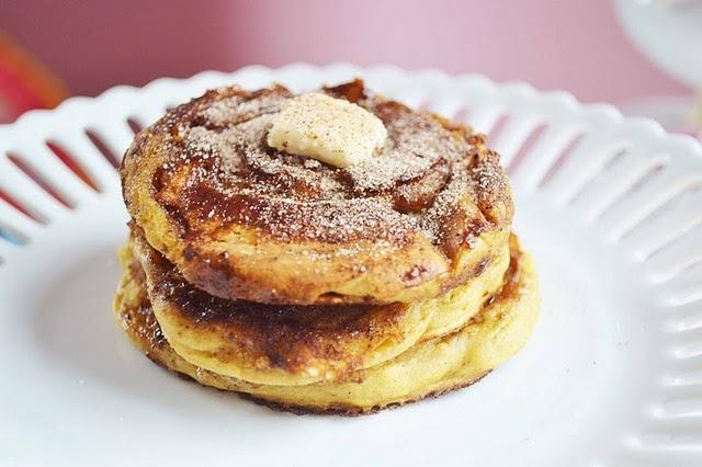 cinnamon swirl pumpkin pancakes | pumpkin | Pinterest