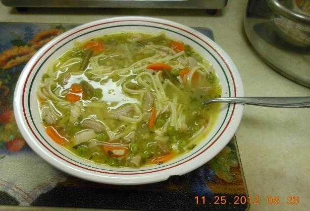 Turkey Noodle Soup. Photo by Chef #798334 - Verdict - So Tasty!!! Easy ...