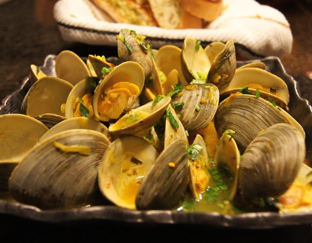 Clams in Saffron Broth   Fish/Seafood   Pinterest