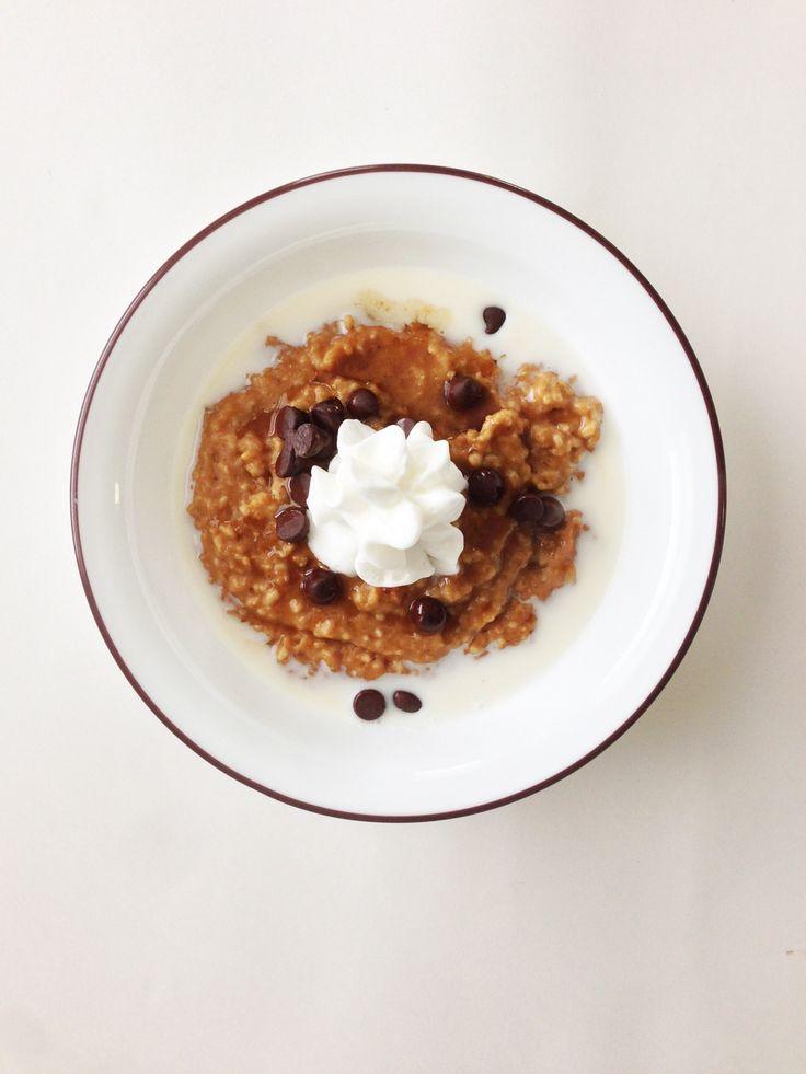 Crock Pot Pumpkin Spice Oatmeal. | Breakfast. | Pinterest