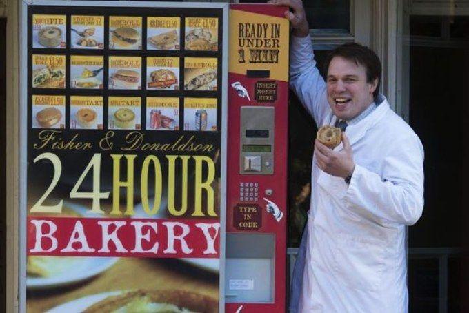 pie vending machine