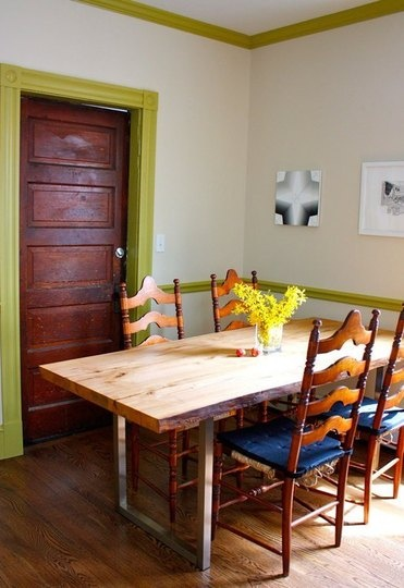 Dining table creative diy dining table