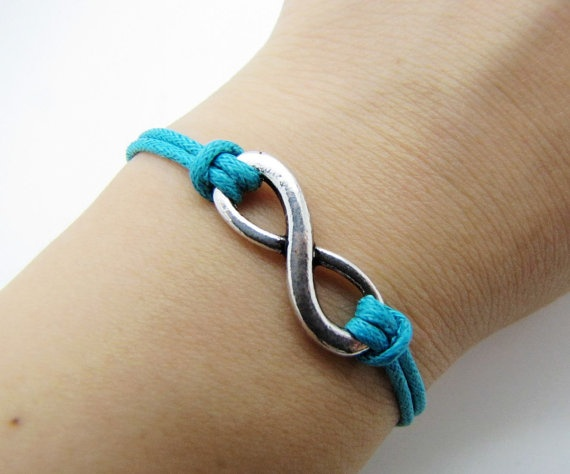 jewelry bangle vintage braceletsilvery infinity by braceletcool, $2.99