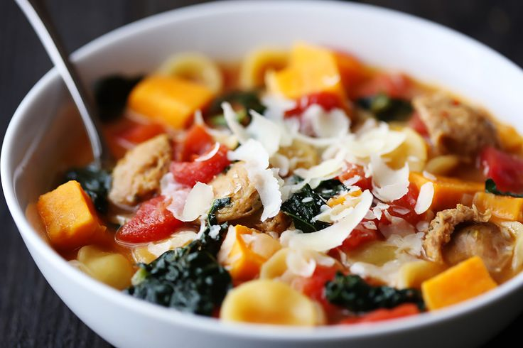 sweet potato, italian sausage and kale soup great with spicy sausage ...