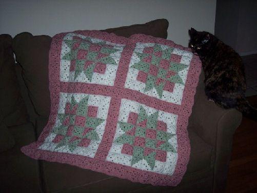 Crochet Patterns Quilt Blocks : baby blocks crochet quilt crochet-afghan Pinterest
