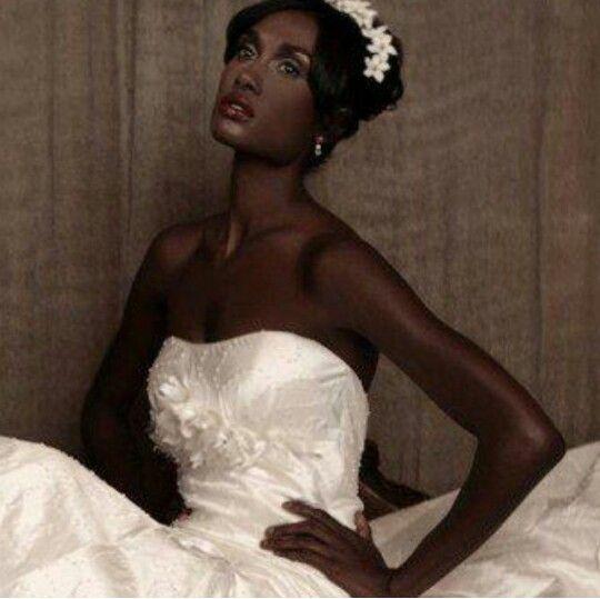 Wedding Gowns For Dark Skin