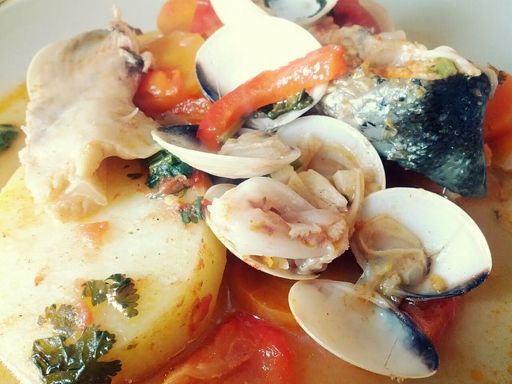Caldeirada, Portuguese seafood stew | portugal (food, recipes, photo ...