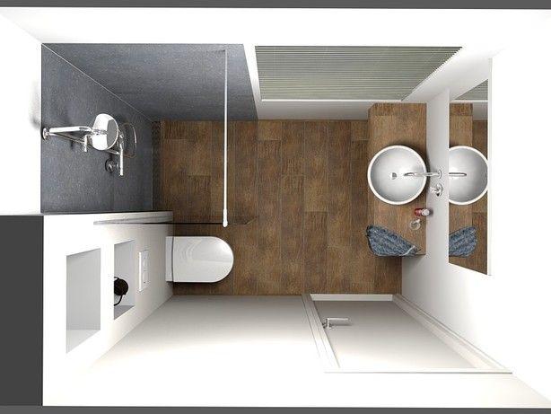Tegels Badkamer Verven ~ Badkamer idee voor een kleine ruimte  Deelidee?n  Pinterest