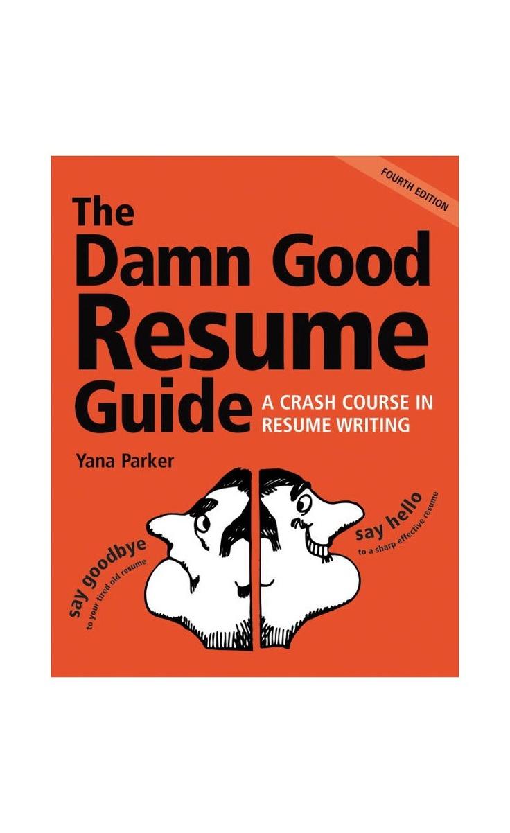 best damn resume book
