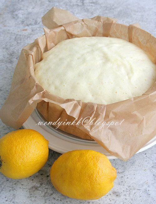 Lemon Steamed Sponge Cake - Lemon #1 | Lemon Lust | Pinterest