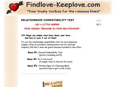 two person relationship compatibility test