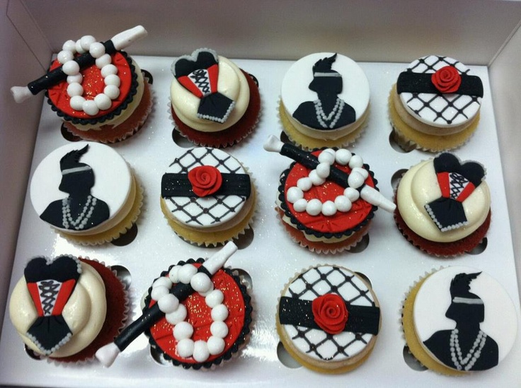 1920s Cupcakes
