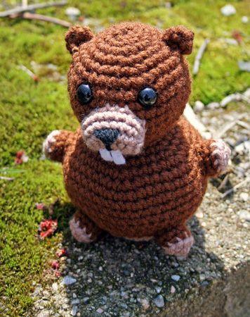 Beaver Crochet Pattern | Crochet: Toys | Pinterest
