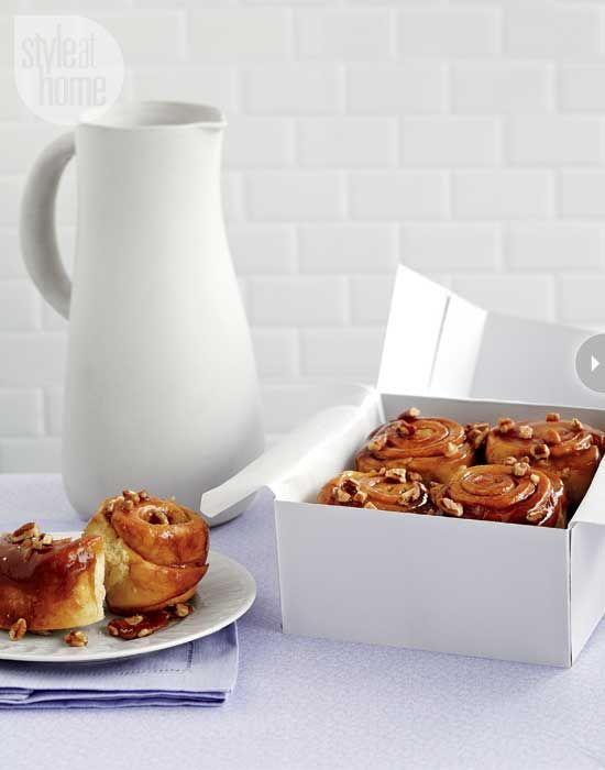 Caramel sticky buns - Style At Home. i go on a diet then i see this ...